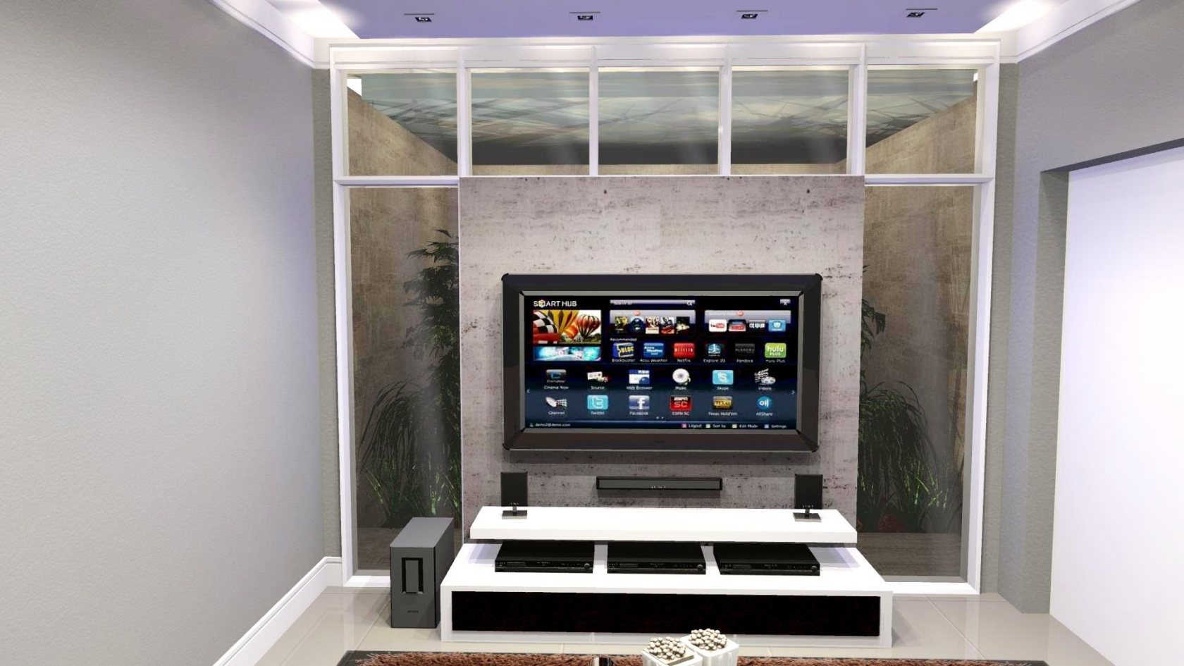 Capital Ville - home theater
